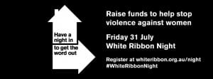 White Ribbon Night 2015 UnionsACT